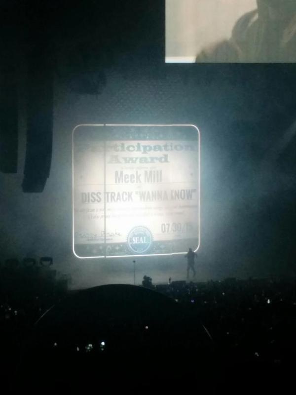 Drake at OVO Fest 2015
